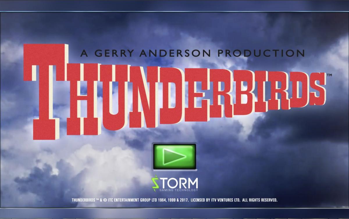 Thunderbirds เหาะเวหาพร้อมล่าเงินรางวัลไปกับเกมสล็อต